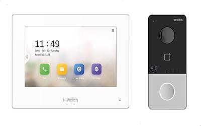 DS-T100IKWF Комплект IP-видеодомофонa от HiWatch