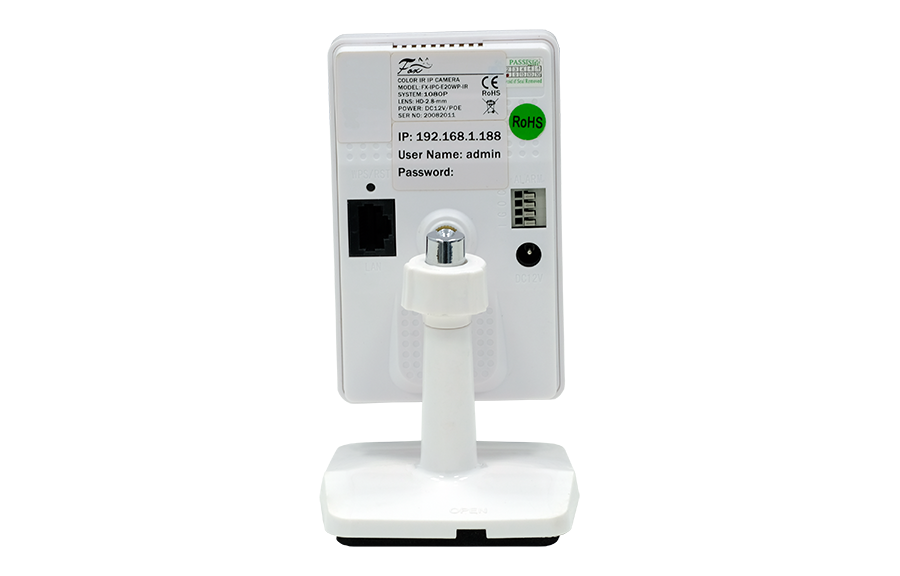 Компактная WI-FI видеокамера FX-IPC-E20WP-IR
