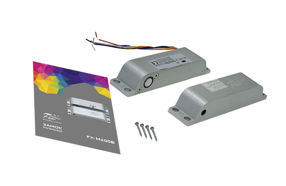 Электромагнитный ригельный замок FOX FX-M100B